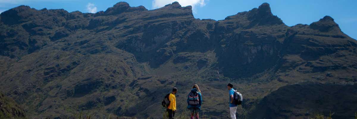 Montañas del Parque Nacional Chingaza