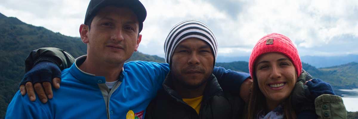 Protagonistas en el Parque Nacional Chingaza